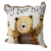 Alex Clark Big Bear Hugs Cushion - 45cm x 45cm