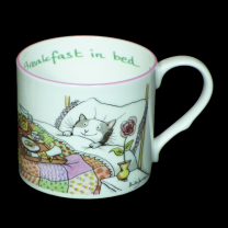 Anita Jeram 'Breakfast in Bed' Mug