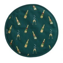 Sophie Allport Bubbles and Fizz circular hob covers
