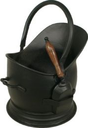 All Black Stanton Coal Bucket & Shovel
