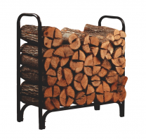Metal Framed Log Rack (4' long) - 23109