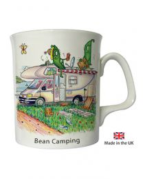 Camping Mobile Home Mug by The Compost Heap