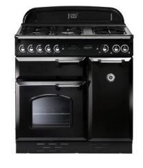 Classic 90 Gas Cooker Black