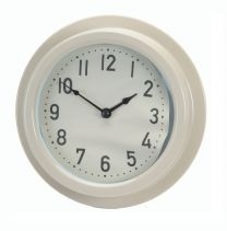 Vintage Traditional Indoor Clock in Clay