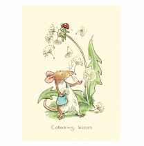 Anita Jeram 'Collecting Kisses' Greeting Card