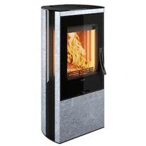 Contura 35T Low Soapstone Glass door