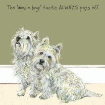 The Little Dog - Double Beg Gift Card