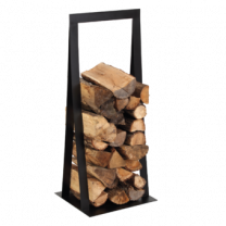 Dixneuf Equinox Log Holder in Black