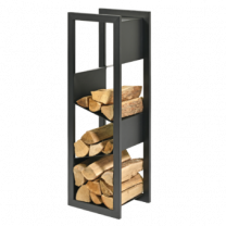 Dixneuf Escale Log Holder in Black