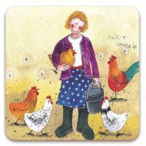 Alex Clark Chicken Lady Magnet