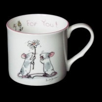 Anita Jeram 'For You' china mug