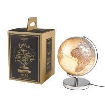 Illuminated World Globe