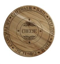 Solid Oak Cheese Board