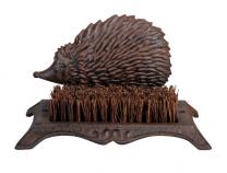 Hedgehog Cast Iron Boot Scraper
