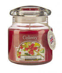 Colony Hollyberry Candle Jar