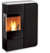 I-Dea Water L Shaped 17kw Pellet Stove