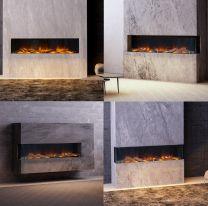 iLektro 1650 Landscape electric fire - 4 config