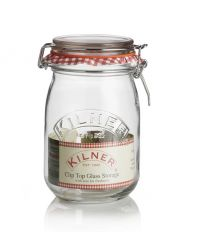 Kilner 1 Litre Clip Top Preserving Jar