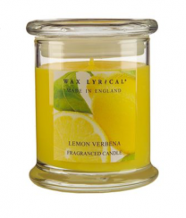 Lemon Verbena Fragranced Candle Jar by Wax Lyrical