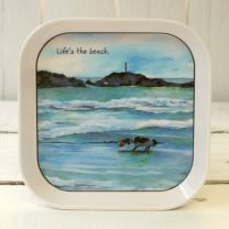 The Little Dog - Life's The Beach Tray