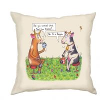 Compost Heap Mad Cow Cushion Large