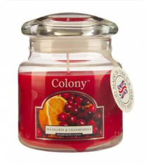 Colony Mandarin & Cranberries Candle Jar