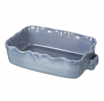 Miel light blue rectangular baking dish. 250mmx 180mm x 70mm