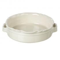 Miel Round Baker in Cream. 250mm diameter x 75mm high