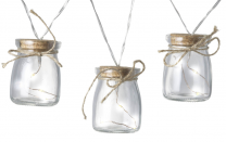 Garland Glass Jar Lights 741035