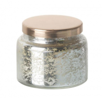 Vanilla Votive with Copper Lid - Silver 750722