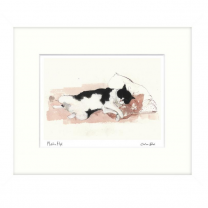 Pillow Talk Framed Cat Picture Print - Madeleine Floyd