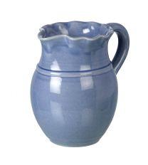 Miel Light Blue Ceramic Pitcher - Handmade Ceramics