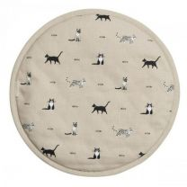 Purrfect Circular Hob Cover from Sophie Allport