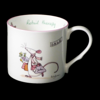 Anita Jeram 'Retail Therapy' china mug