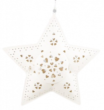 Hanging Star Tealight Holder