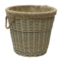 Round Lined Basket