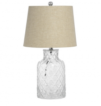 Sancerre Glass Base Table Lamp
