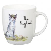 Country Pursuits The Shepherd Mug (Olive shaped mug)
