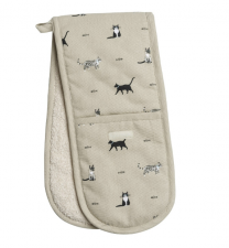 Sophie Allport Purrfect Cats Double Oven Glove