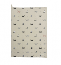 Sophie Allport Purrfect Tea Towel - Cat Print