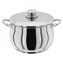 Stellar 1000 stainless steel stockpot - 5.7L and 6.9L available