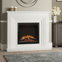 Elgin Hall Vitalia Electric Fireplace Complete