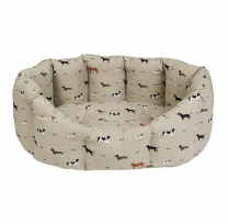Large Woof Dog Bed by Sophie Allport
