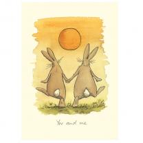 Anita Jeram 'You and Me' Greeting Card