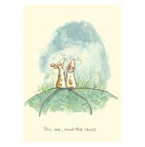 Anita Jeram ' You, Me and The Stars' Greeting Card
