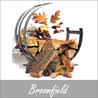 Broomfield Hand Forged Log Holders