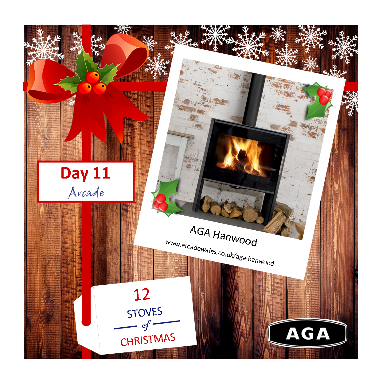 Day 11 - 12 Stoves of Christmas