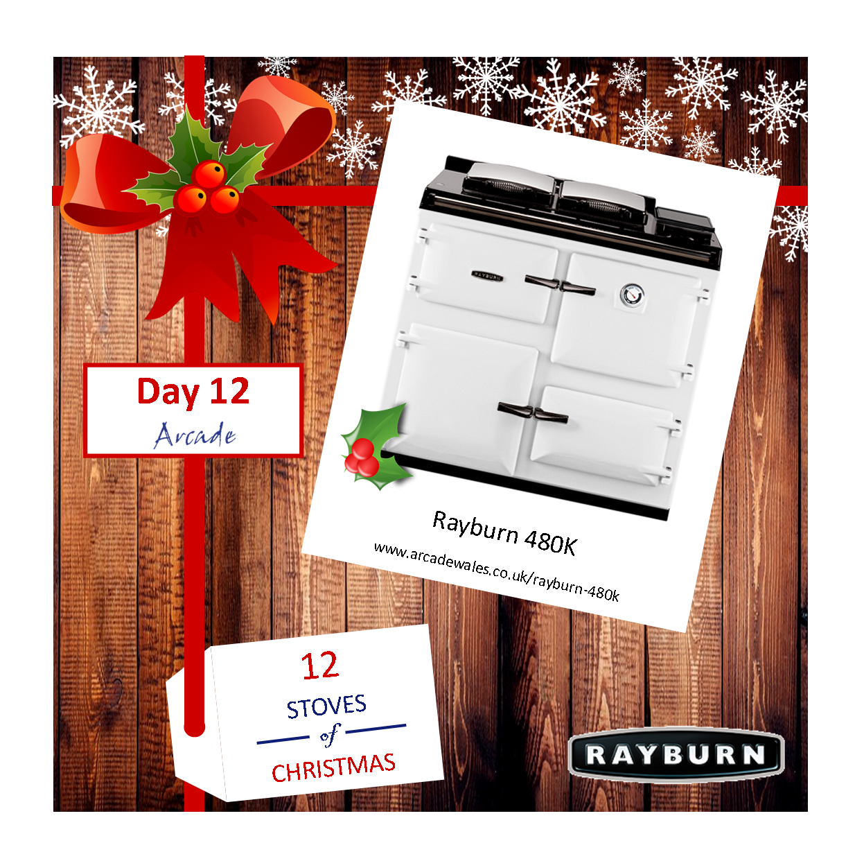 Day 12 - 12 Stoves of Christmas