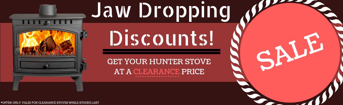 Hunter Clearance Sale
