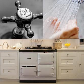Rangecooker Cooking & Domestic Hotwater